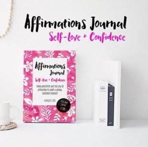 affirmations journal self love and confidence natalie louise fox