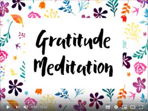 gratitude meditation raise your vibration